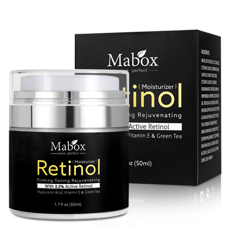 MABOX ретинол Retinol крем для лица увлажняющий увлажняющее содержание Уход за лицом 50мл
