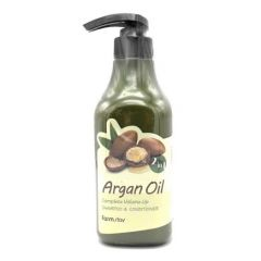 053659 FarmStay Шампунь-кондиционер с aргановым маслом Argan Oil Complete Volume Up Shampoo & Conditione