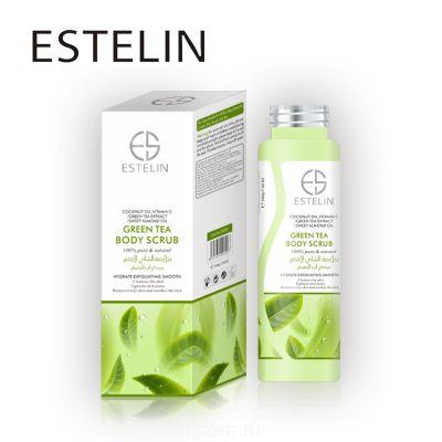 Отшелушивающий зеленый чай скраб для тела Уход за лицом нежный не раздражает отшелушивающую кожу куриная кожа косметика