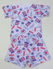 "Костюм: футболка 2 кн. шорты kA-KS069(2)-SUk (супрем, goal) код товара 01270 ""Мамин Малыш"" | Вид сзади"