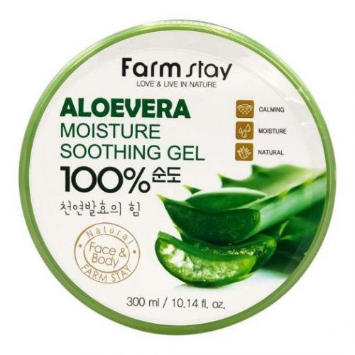 539171 FarmStay Многофункциональный гель с экстрактом алоэ Aloe Vera Moisture Soothing Gel 100%