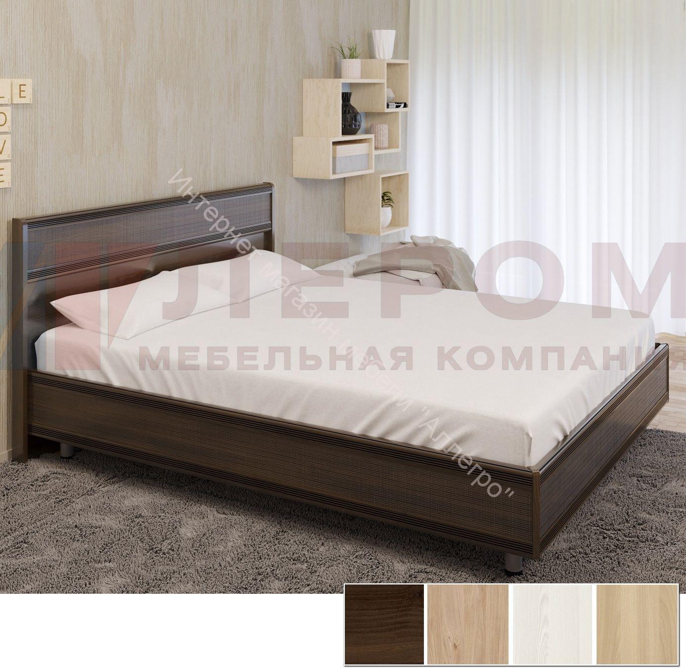 Кровать КР-2003 (1,6*2,0) Карина с жестким изголовьем