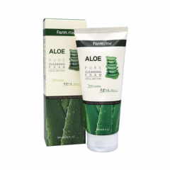 289465 FarmStay Пенка для умывания с экстрактом алоэ Aloe Pure Cleansing Foam