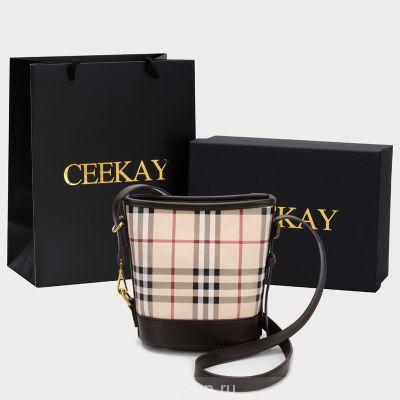 CEEKAY ниша бренд мешок 2020 новый прилив дикий европейский стенд плед Crossbody ведро Сумка мода женская сумка