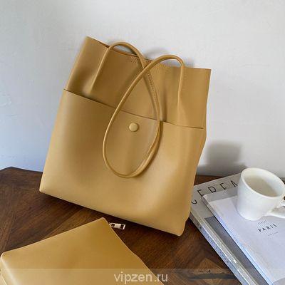 Колледж ветер тотализатор сумка большой емкости японская девушка INS сеть красный простой дикий литература одно плечо сумочка