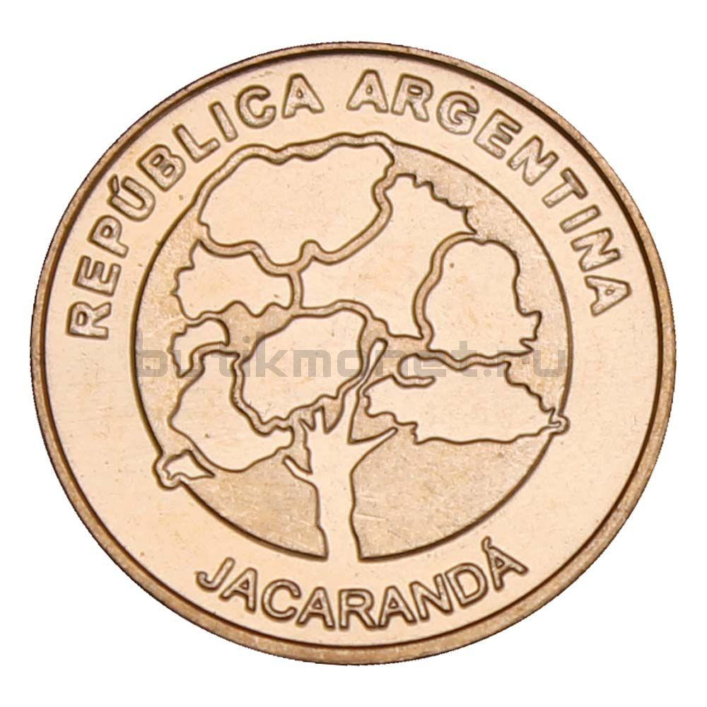1 песо 2017 Аргентина