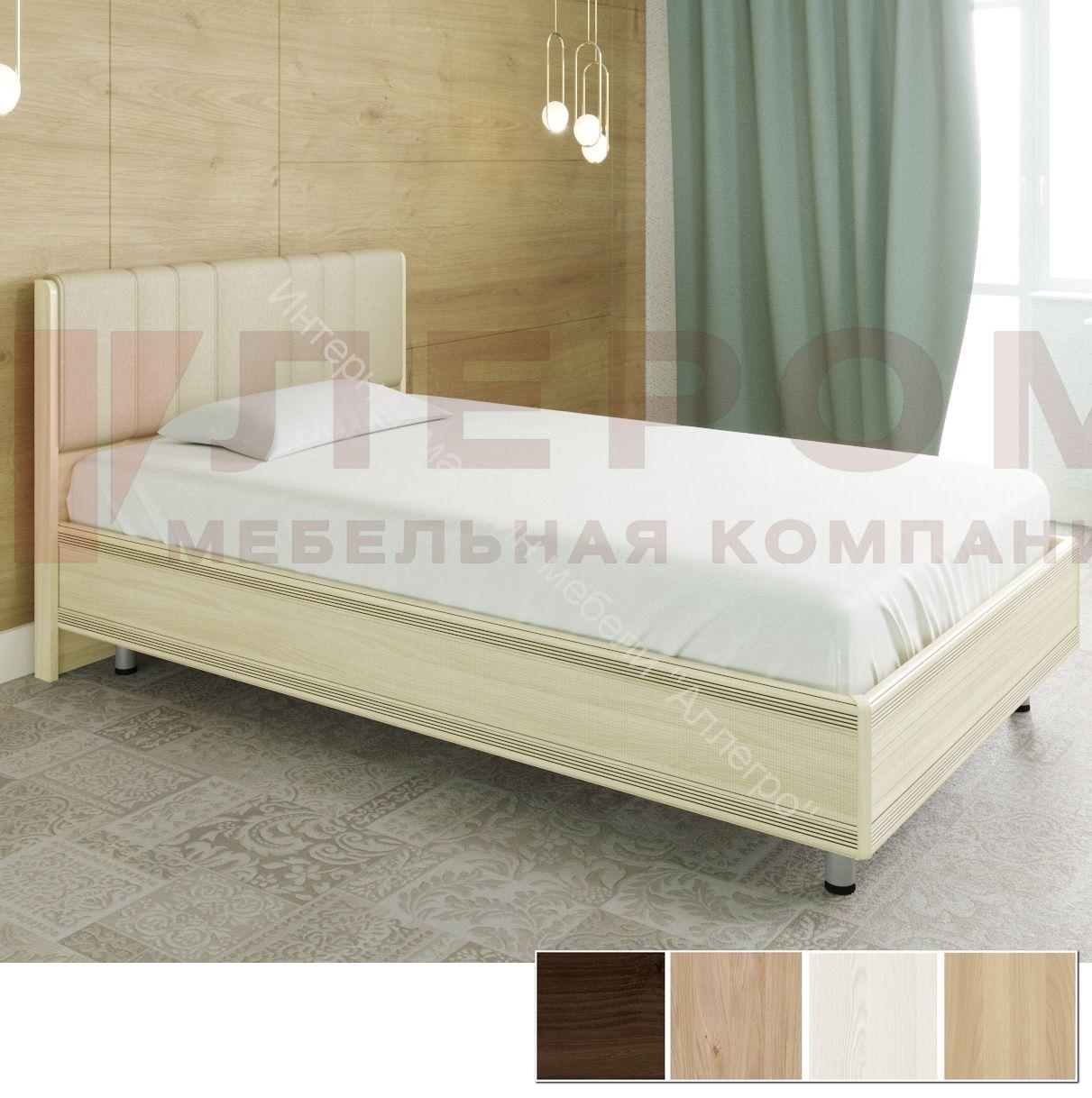 Кровать КР-2012 (1,4*2,0) Карина с  мягким изголовьем