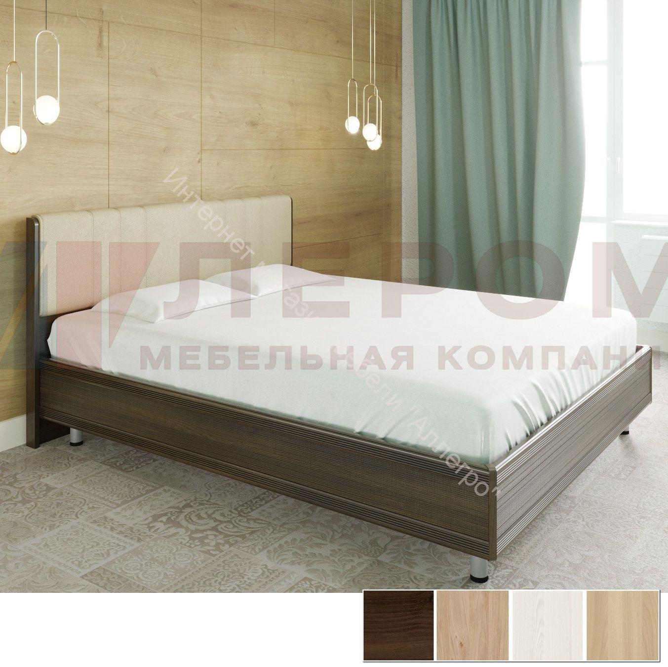 Кровать КР-2014 (1,8*2,0) Карина с  мягким изголовьем