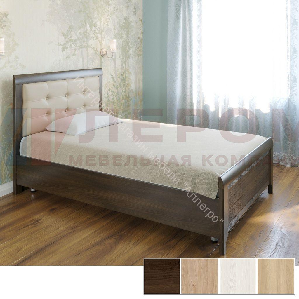Кровать КР-2031 (1,2*2,0) Карина с мягким изголовьем