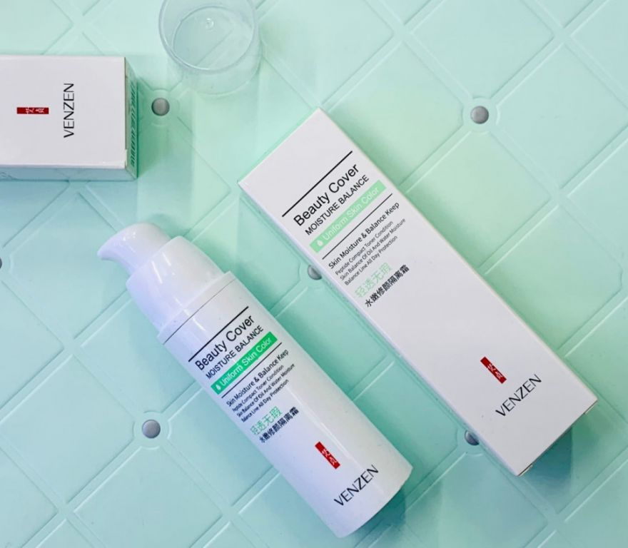 Защитная база под макияж Venzen Beauty Cover, 30 гр (1412120)