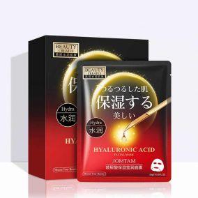 Маска тканевая с гиалуроновой кислотой Hyaluronic Acid Facial Mask 25гр Jomtam