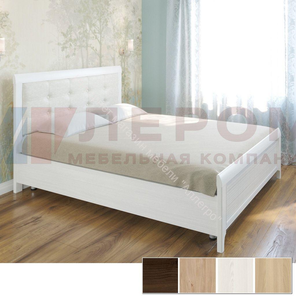 Кровать КР-2034 (1,8*2,0) Карина с мягким изголовьем
