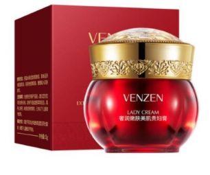 Омолаживающий и увлажняющий крем для лица Venzen.(45510)