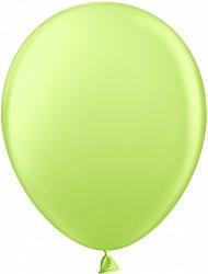 Шар (10''/25 см) Светло-зеленый, пастель, 100 шт.