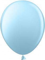 Шар (10''/25 см) Голубой, пастель, 100 шт.