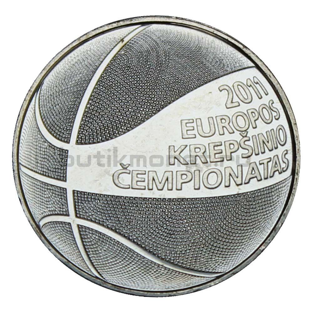 1 лит 2011 Литва Чемпионат Европы по баскетболу