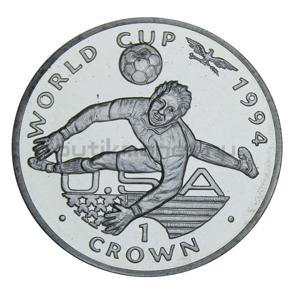 1 крона 1994 Гибралтар Сейф вратаря, Чемпионат мира по футболу 1994