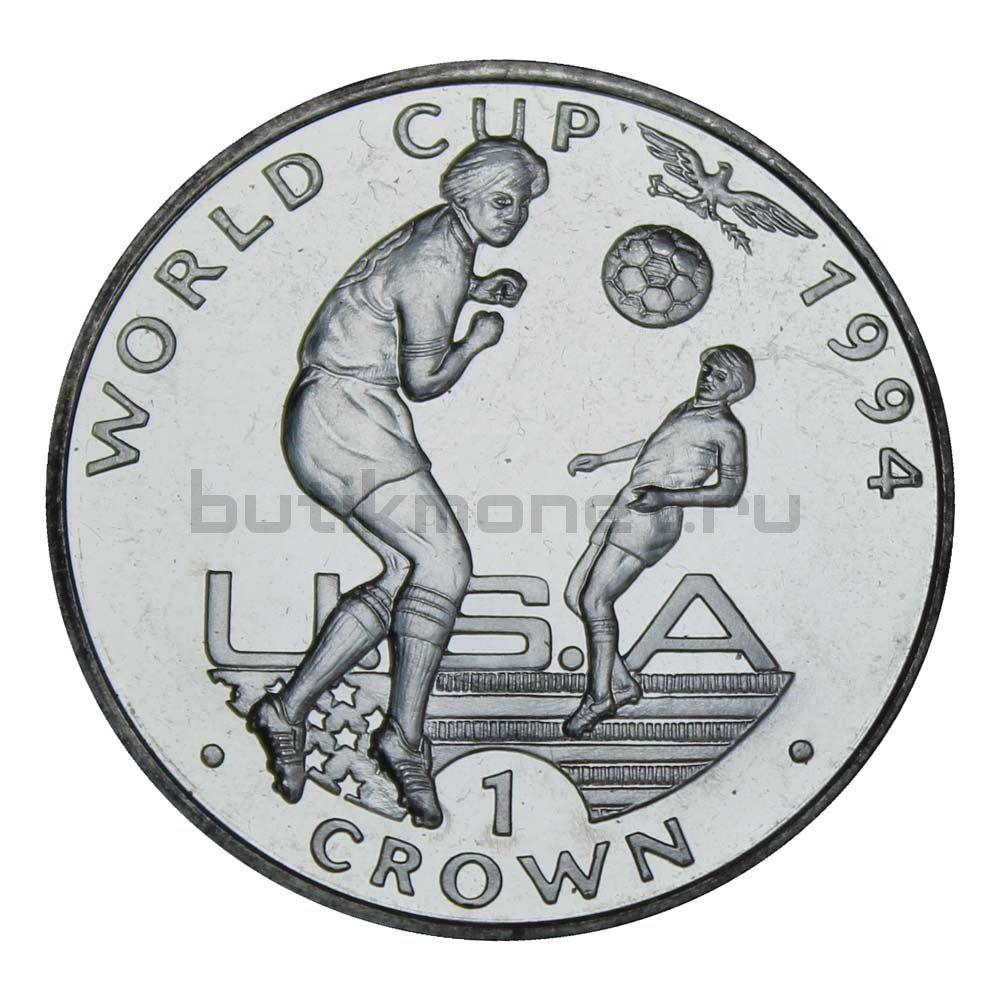 1 крона 1994 Гибралтар Удар Головой, Чемпионат мира по футболу 1994