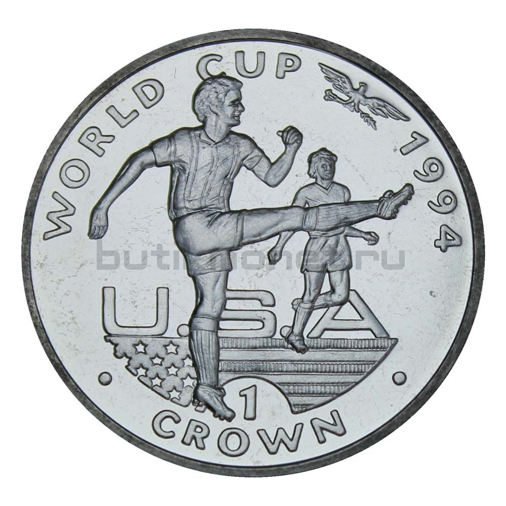 1 крона 1994 Гибралтар Удар Ногой, Чемпионат мира по футболу 1994
