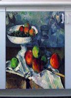 Наклейка на посудомоечную машину - Ваза с фруктам   магазин интерьерные наклейки
