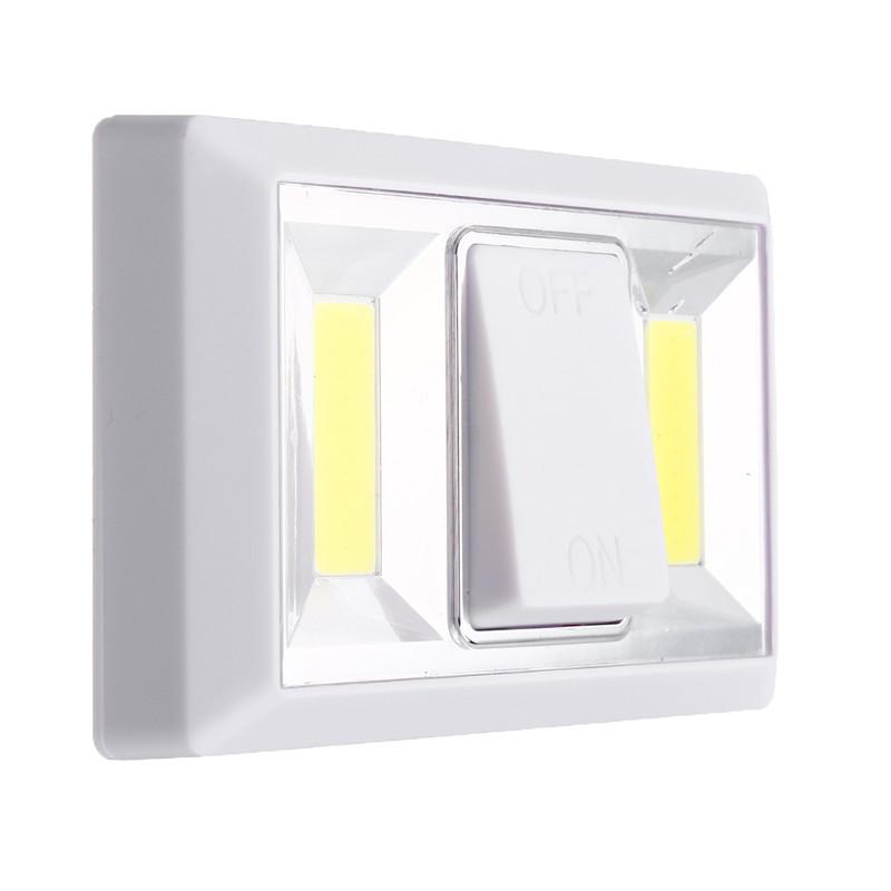 Настенный LED светильник с выключателем