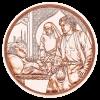 Братство 10 евро Австрия 2021 Серия «С кольчугой и мечом»