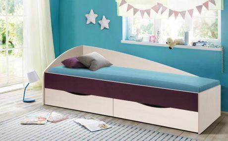 Кровать Фея - 3 (асимметричная) (1900х800)
