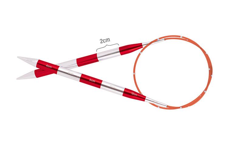 Спицы круговые SmartStix Knit Pro алюминий