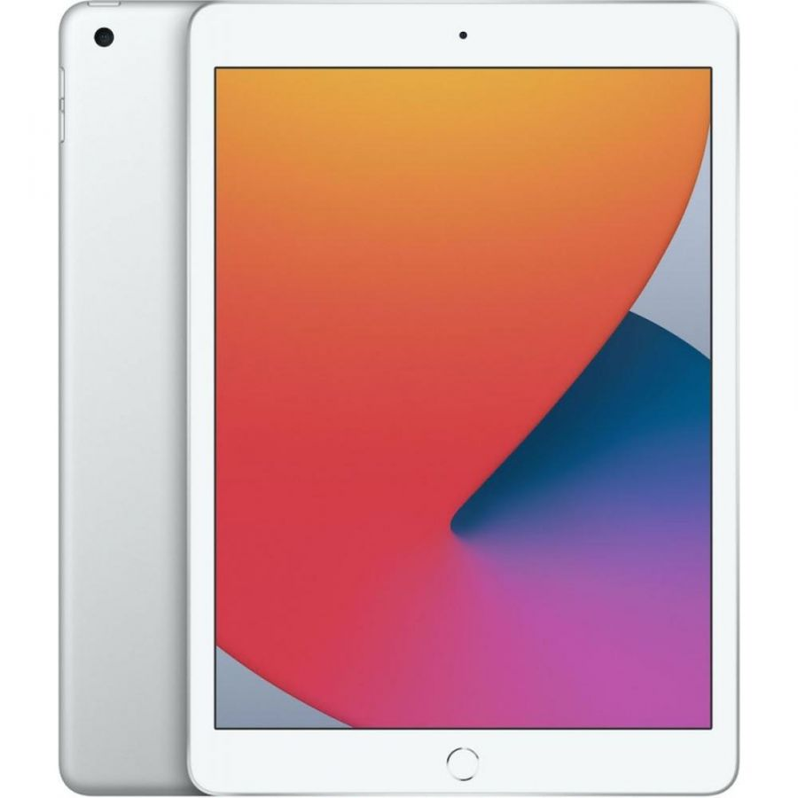 Планшет Apple iPad (2020) 128Gb Wi-Fi + Cellular Silver (MYMM2)