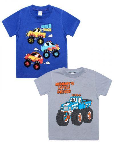 "Футболка для мальчика 1-4 года Dias kids ""Super truck"""
