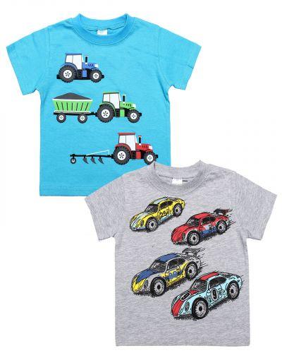 "Футболка для мальчика 1-4 года Dias kids ""Cars"""