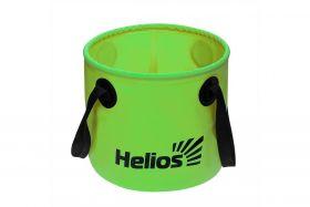 Ведро складное Helios ПВХ 11л