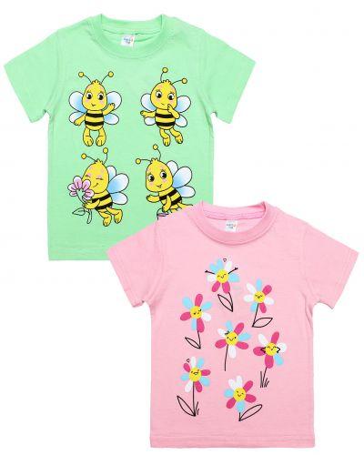 "Футболка для девочки 1-4 года Dias kids ""Bee"""