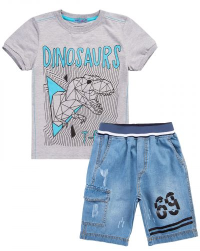 "Костюм для мальчика 8-12 лет Bonito ""Dinosaurs"" меланж"