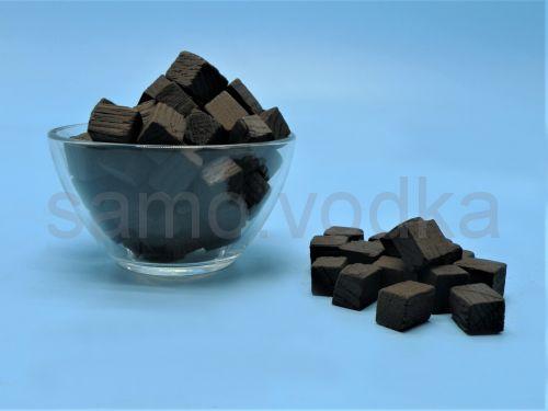 Кубики дубовые сильный обжиг 0,25 кг