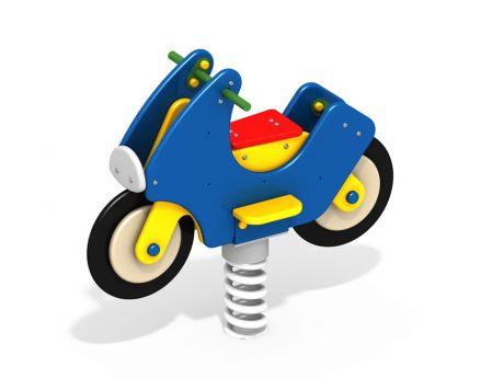 Качалка на пружине Мотоцикл ДИО-4.04
