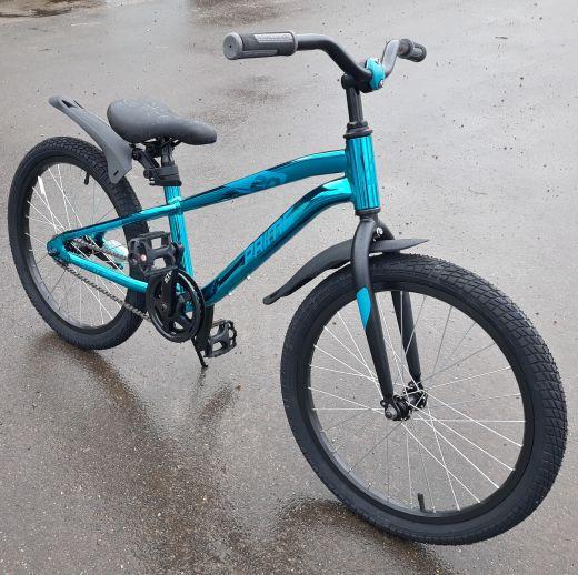Велосипед Novatack Prime 20 Синий Металлик
