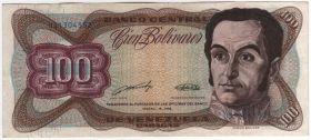 Венесуэла 100 боливаров 1989