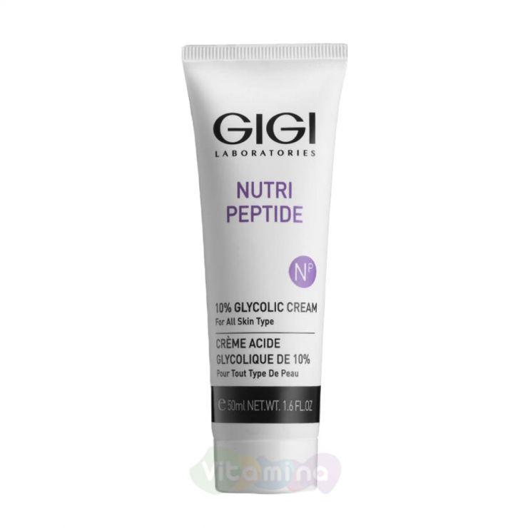 GiGi Крем ночной с 10% гликолиевой кислотой для всех тип кожи NP 10% Glycolic Cream , 50мл