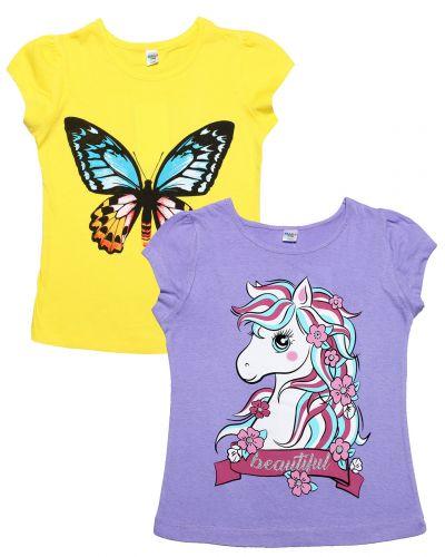 """Футболка для девочек Dias kids 8-12 лет """"Pony"""""""