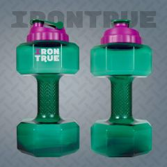 Бутылка - гантеля IRONTRUE 2.2L
