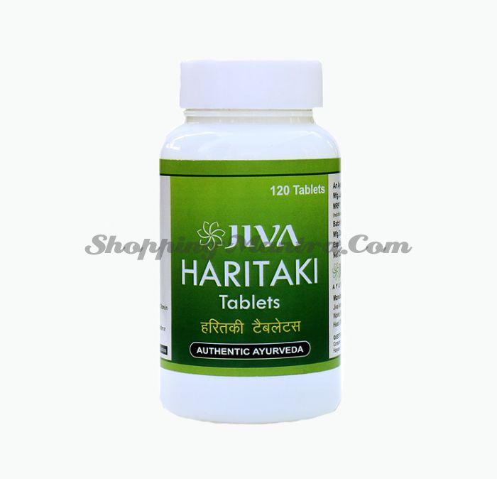 Харитаки в таблетках Джива Аюрведа / Jiva Ayurveda Haritaki Tablets