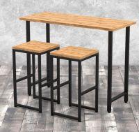 Стол барный + 2 стула Лофт