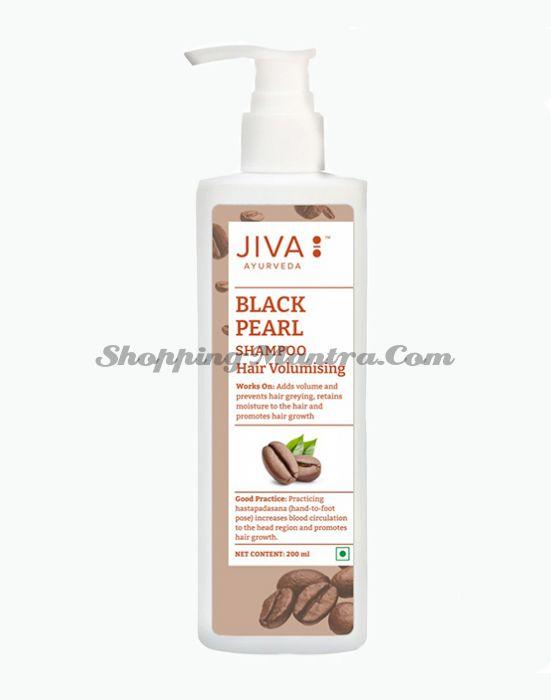Шампунь Черный Жемчуг Джива Аюрведа | Jiva Ayurveda Black Pearl Shampoo