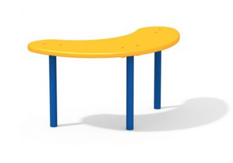 Стол для песочницы овальный АМФ-3.052