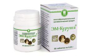 ЭМ-Курунга продукт метаболический, 60 таблеток