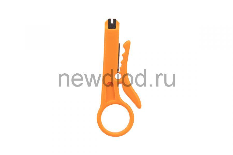 Инструмент для заделки и обрезки витой пары REXANT MINI HT-318M, 110