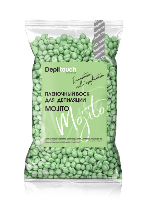Depiltouch Пленочный воск Mojito серии Innovation, 200 гр.