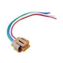 RK04110 * Разъем к модулю зажигания для а/м 2110-2112 (старого образца) (с проводами сечением 0,5 кв.мм, длина 120 мм)