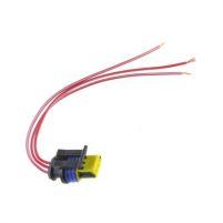 RK04113 * Разъем к датчику скорости для а/м 1117-1119, 2170-2172 (с проводами сечением 0,5 кв.мм, длина 120 мм)